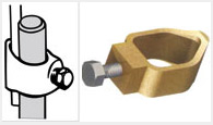 Earth Rod G type Clamps and Fittings