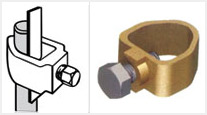 Earth Rod A Type Clamps and Fittings